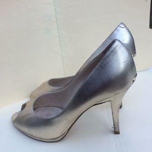 Christian Dior Heels Gold